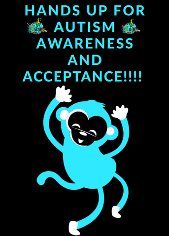Hands up for autism awareness