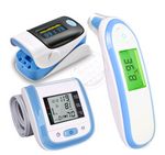 Infrared ear temperature, temperature and temperature electronic thermometer, finger clamp pulse oximeter, wrist sphygmomanometer