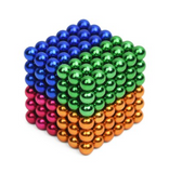 Buck Ball 216 Magnetic Ball Decompression Educational Toy Color Magnetic Ball Rubik's Cube