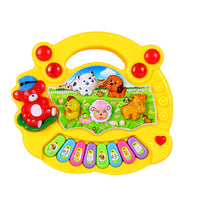 Educational Toys Farm Animal Keyboard Musical Instrument Child Baby Toys