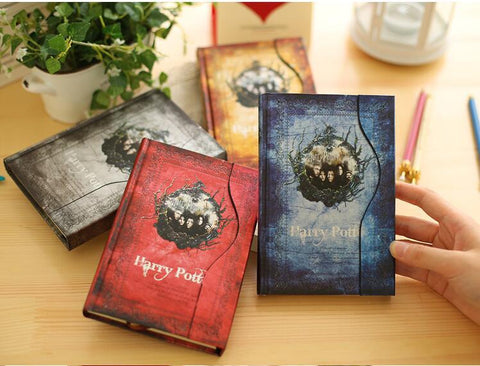 Harry Potter four-color retro schedule notebook
