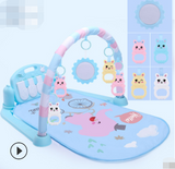Baby gym: foot piano