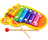 Baby raising intelligence infant puzzle wooden phonic knock on the piano Ball shaking whistle party acoustic hand on the toy