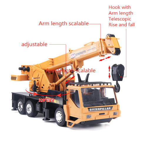 Wireless remote control crane