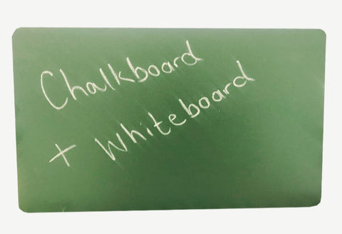 2 in 1 chalkboard and whiteboard