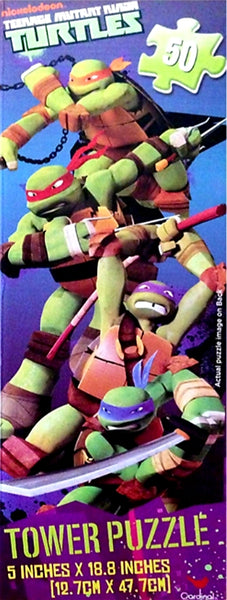 Tower puzzle Ninja Turtles