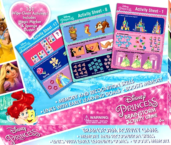 Disney princess brainstorm activity