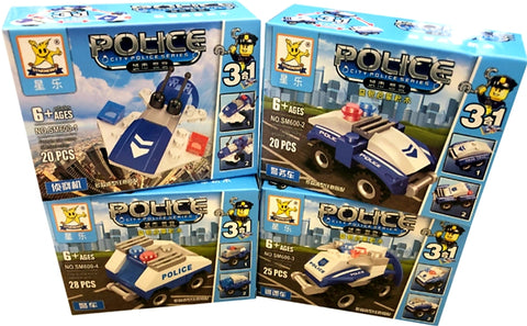 Police building blocks