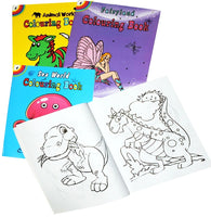 Colouring in books assorted