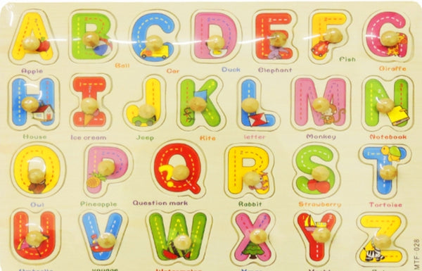 Wooden insert puzzle ABC