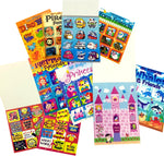 Large sticker book girls/boys