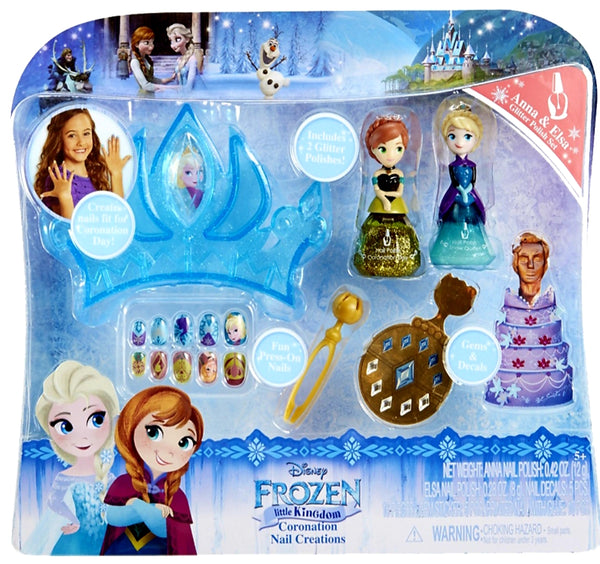 Frozen creations nail set