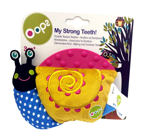 Double texture teether