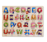 Educational wooden puzzles assorted