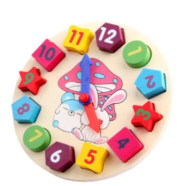 CTFFNIKPJM224 Children's education clock toys