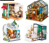 3D Puzzles Manual DIY Models Kathy Flower House Sunshine Garden Sam Bookstore Gifts