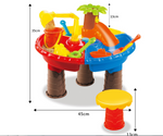 Sand and water play table