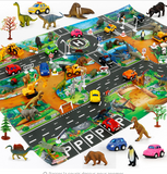 Dinosaur World Traffic Parking View Game Pad