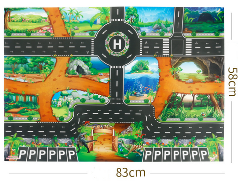 Traffic game mat