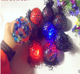 Mesh Squishy Ball Multi Color and lights
