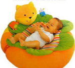 Inflatable baby game pad
