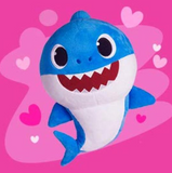 Baby Shark singing plush toy