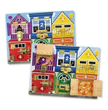 Melissa Doug Wooden Latches Board