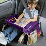 Play  Snack Travel Tray Purple