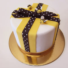 Bee Happy Cake
