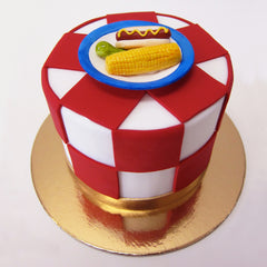 Summer Barbecue Cake