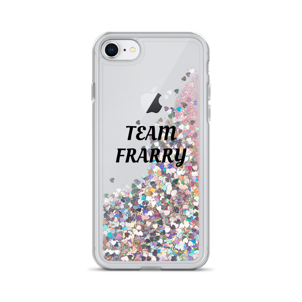Team Frarry Liquid Glitter Phone Case
