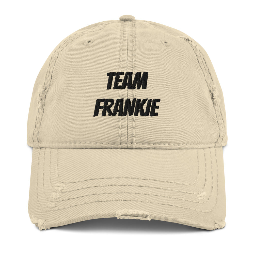 Distressed Dad Hat - Team Frankie