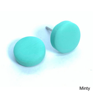 Mini Studs - Block Colour