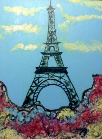 Teen Paint Night: Eiffel Tower