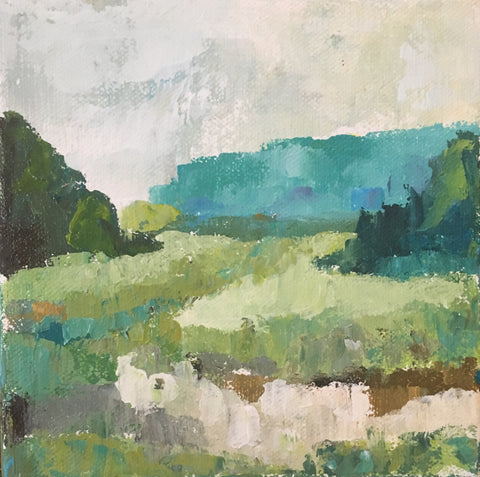 Palette Knife Landscape with Maggie Holmes