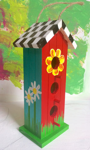 Kids Craft: Father's Day Bird House!