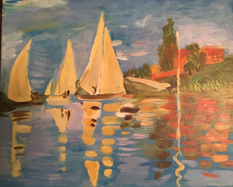 Monet's Regatta at Argenteuil