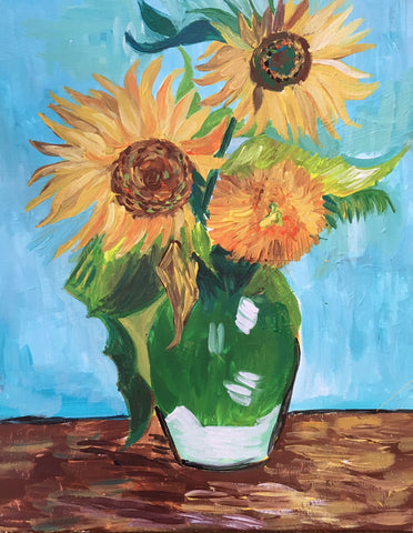 Vincent Van Gogh's Sunflowers
