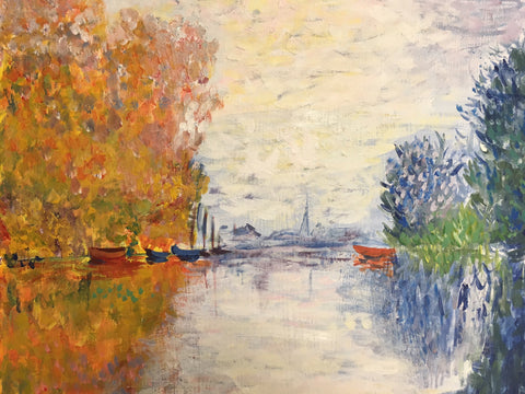 Monet's Autumn on the Seine at Argenteuil