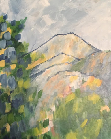Masterpiece Workshop: Cezanne of Mont Sainte-Victoire (c. 1904/06)