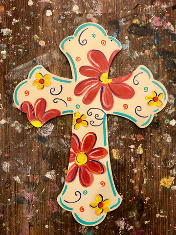 TAKE-HOME Cross Doorhanger 14""