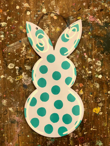 ART TO-GO!  Bunny Doorhanger 14""
