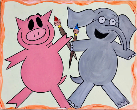 "Elephant & Piggie's ""We Are in a Painting!"""