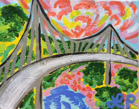 Adult Artisphere Art Class: Liberty Bridge