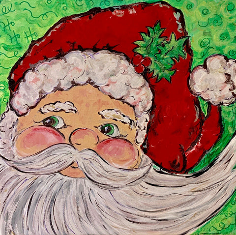 Kids Holiday Art Class with Jeanne O'Neal