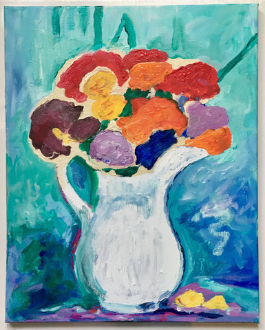 Henri Matisse: A Pitcher of Flowers
