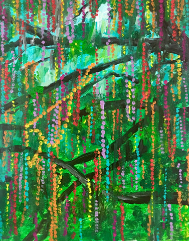 New Orleans Bead Tree
