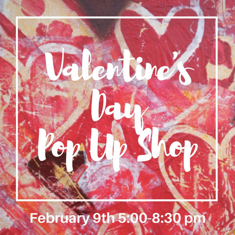 Valentine's Day Pop Up Shop