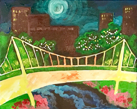 Moonlight Over Liberty Bridge