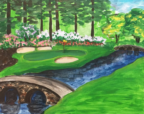 Spring Day at the Masters